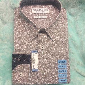 NWT Nick Graham long sleeve shirt